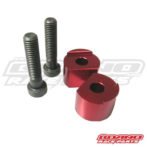 BAR RISERS 15MM RED