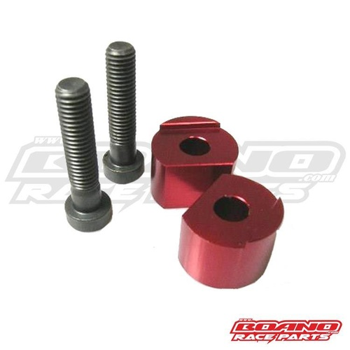 BAR RISERS 20MM RED