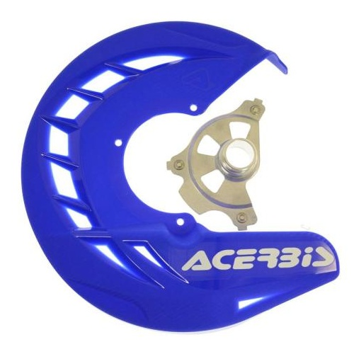 ACERBIS FRONT DISC GUARD BLUE  RR ONLY MY13-21