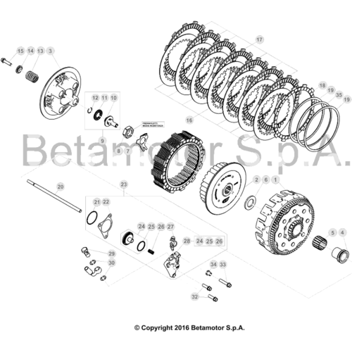 03 PRIMARY GEAR CPL./CLUTCH