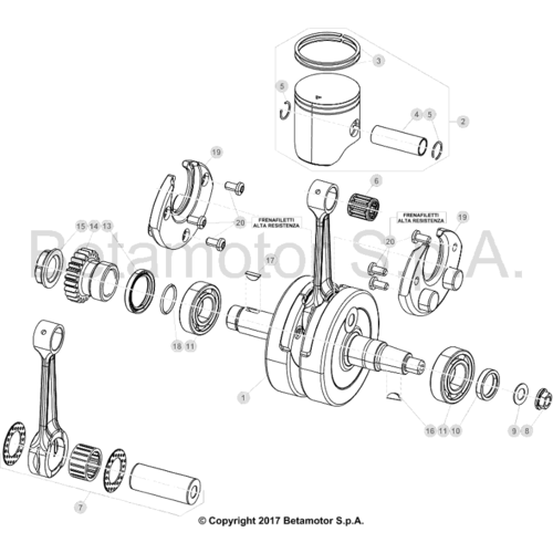 02 CRANKSHAFT/PISTON/BALANCER SHAFT