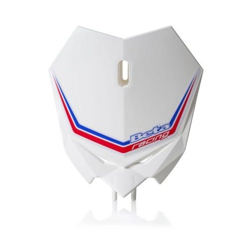 MX FRONT PLATE KIT WHITE RR MY20-21