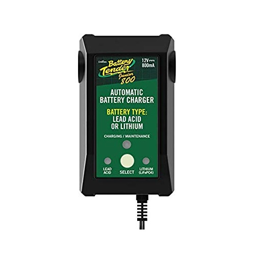 BATTERY TENDER 800mA JUNIOR CHARGER LITH/LEAD TYPES